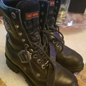 Harley Davidson Women's Motorcycle Boots 8.5